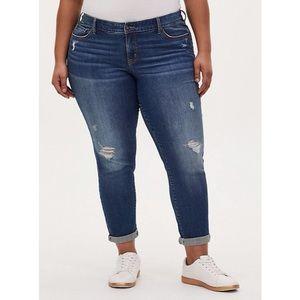 Torrid Boyfriend Straight Vintage Stretch Jeans